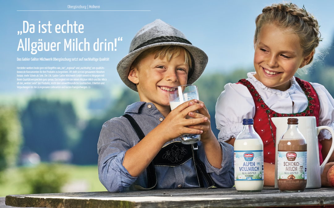 Saliter in the 'Allgäuer Wirtschaftsmagazin'