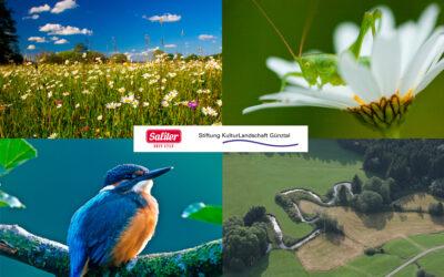 Lebensraum schaffen mit der Stiftung Kulturlandschaft Günztal